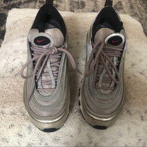 Nike Air Max 97 Silver Bullet Used W7 (Y 5.5)